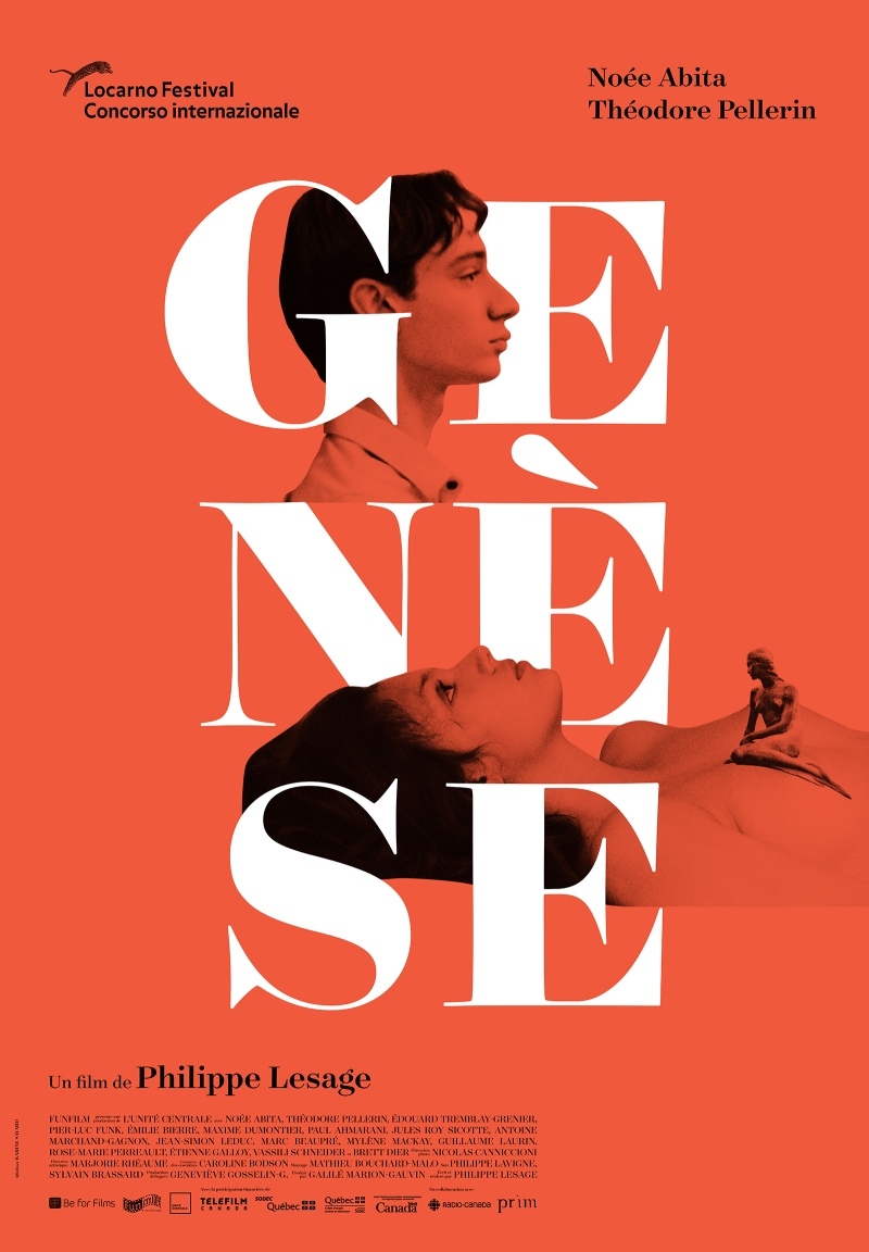 Gemma King at French Film Festival Genesis Poster